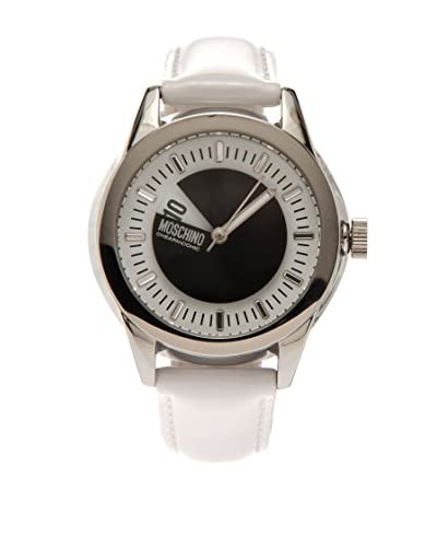 Moschino Cheap&Chic Reloj Disc Jockey Blanco