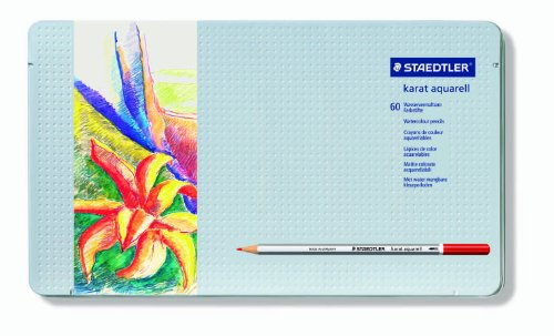 Staedtler Karat Aquarell Premium Watercolor Pencils, 