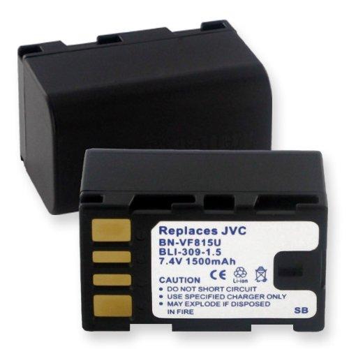 1500Ma, 7.2V Replacement Li-Ion Battery For Jvc Gy-Hm100U Video Cameras - Empire Scientific #Bli-309-1.5