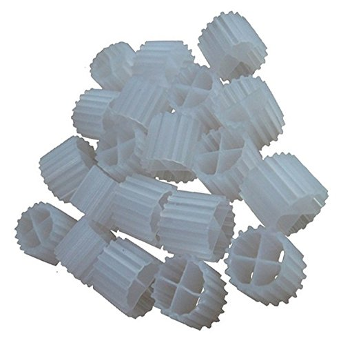[K1 MICRO] Kaldnes Filter Media Moving Bed Biofilm Reactor (MBBR) for Aquaponics • Aquaculture • Hydroponics • Ponds • Aquariums by Cz Garden Supply