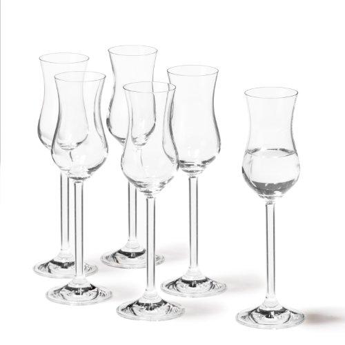 Leonardo Daily 35237 Set 6 bicchierini da grappa