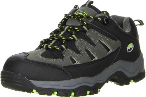 ConWay Damen Herren Wanderschuhe Trekkingschuhe schwarz, Größe:38;Farbe:Schwarz