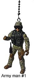 Army Man Military Troops Ceiling Fan Pull (Army Man 1)