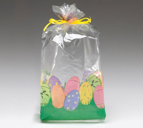 Easter Egg Cellophane Cello Bags Party Favor Small [Office Product]