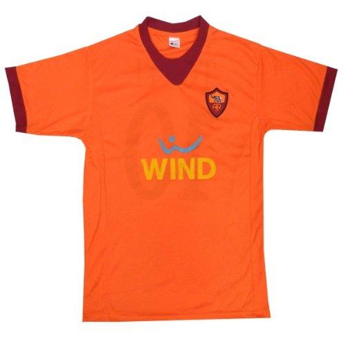 レプリカサッカーシャツ●ASローマ トッティー 10番 ホーム半袖●T1147