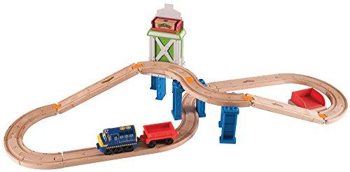 Chuggington Wooden Railway Easy Track- Cargo Crossover