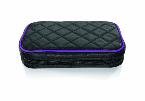 Travel Smart by Conair Quilted Jewelry Organizer