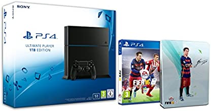 Console PlayStation 4 1To + Fifa 16 + Steelbook FIFA 16 exclusif