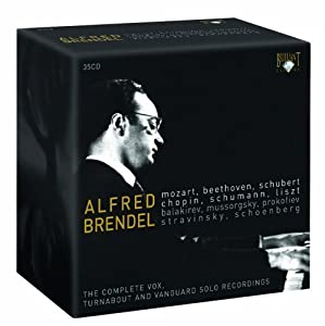 His Vanguard & Vox-Turnabout Recordings 1958-1970 Box set, Original recording reissued Edition by Brendel, Alfred (2008) Audio CD