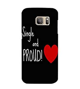 SAMSUNG GALAXY S7 SING AND PROUD Back Cover by PRINTSWAG