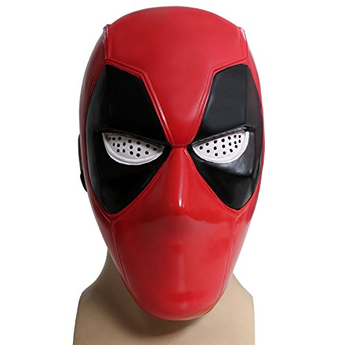 Hotwinds-X-Cosplay-Men-DP-Props-Red-PVC-Half-Face-Mask-For-Halloween-Adult
