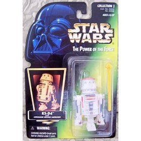 Star Wars The Power of the Force Action Figure - R5-D4 - Green Card with Holo... - 1