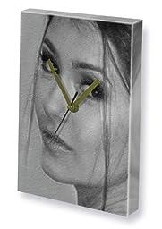 NINA DOBREV - Canvas Clock (LARGE A3 - Signed by the Artist) #js004