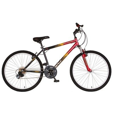 Mantis Raptor Men's 26- Inch Bike, Red/Black