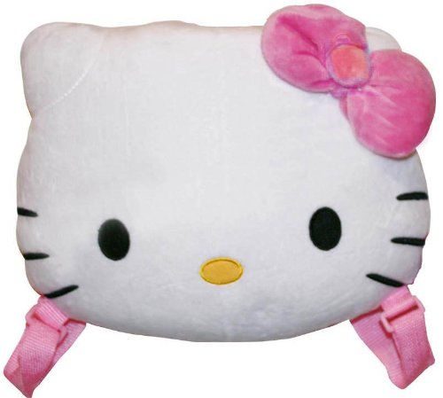Hello Kitty Plush Backpack 10 Inch