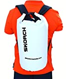 SKORCH Waterproof Backpack Dry Bag 30 litres with Padded Shoulder Straps. Durable Watertight Sack for Your Gear and Valuables (Clothing, Kit, Food, Camera, Phone, Wallet, Wetsuit) for the Active Outdoors Lifestyle - PicnIc, Kayaking, Boating, Sailing, Scuba Diving, Skiing, Swimming, Paddle boarding or Camping. Easy Water Seal Fastening and Simple Wipe to Clean Maintenance.