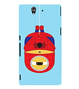 EPICCASE Hanging Minion Mobile Back Case Cover For Sony Xperia Z (Designer Case)
