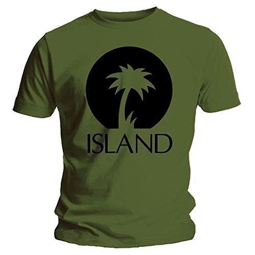ISLAND RECORDS - BLACK PALM LOGO - OFFICIAL MENS