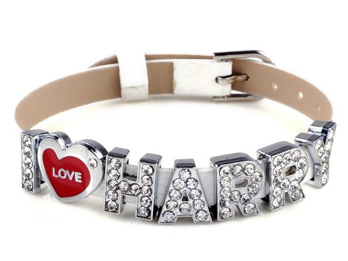 I Love Harry One Direction ID Member bracelet