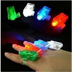[Best price] Puzzles - niceEshop(TM) Colorful Laser Finger Beams / Bright LED Finger Lights (4 Pack) - toys-games