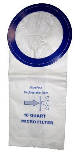 Vacuum Bags For Pro-Team10 Qt. Backpack Vacuums - 10 Pack