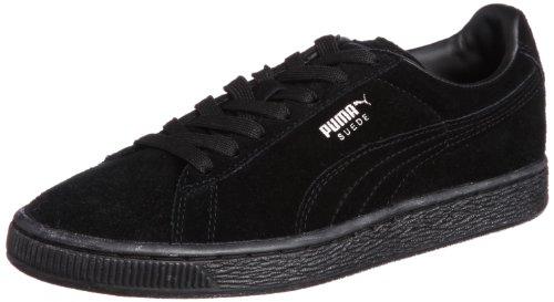 Puma 356568 Sneaker Suede Classic, Uomo, Nero (Schwarz (black-dark shadow 77)), 43