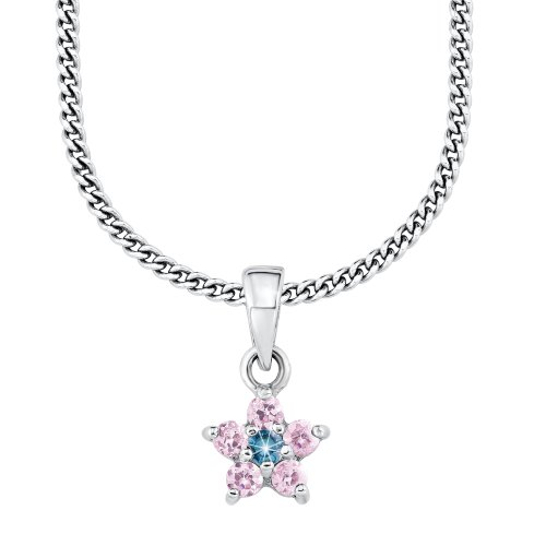 Prinzessin Lillifee 432016 Children's Claw Set  Cubic Zirconia 39.0 centimetres 3.3 grams Sterling Silver 925 Necklace