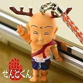 平城遷都1300年記念 奈良のキモゆるキャラせんとくん根付ストラップ(ピース)NK1400