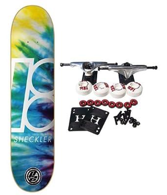 PLAN B Complete Pro Skateboard RYAN SHECKLER NEXUS P2 CARBON 8.2