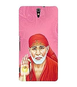 OM Shri Sai Kaalaya 3D Hard Polycarbonate Designer Back Case Cover for Sony Xperia C5 Ultra Dual :: Sony Xperia C5 E5553 E5506 :: Sony Xperia C5 Ultra