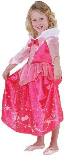 Costume principessa Aurora Disney deluxe bambina 5 a 6 anni
