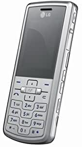 LG ME770 Unlocked Phone with 2 MP Camera and Media Player--International Version with No Warranty (Silver)