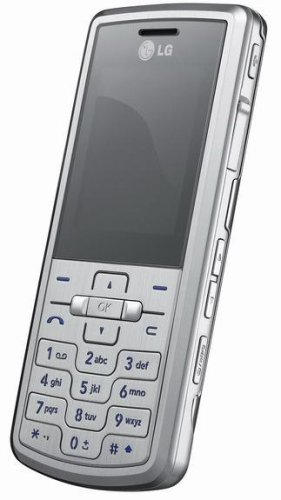 LG ME770 Unlocked Cell Phone with 2 MP Camera and Media Player--International Version with out Warranty (Silver)