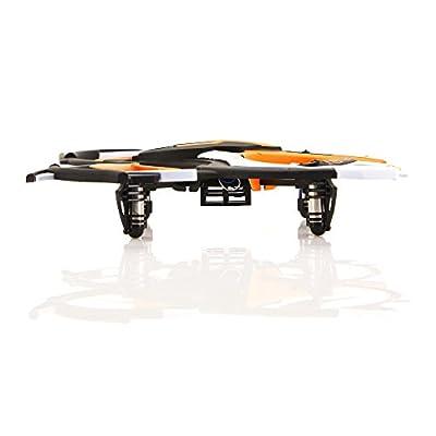 ACME - zoopa Q 165 riot Quadro   2,4GHz Fernsteuerung   360° Flipfunktion   3 Geschwindigkeiten   inkl. 2 Stück zoopa Race Pylonen (ZQ0166)