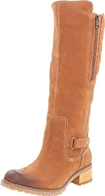 Timberland Women's Apley Tall Boot,Brown/Brown,6.5 M US