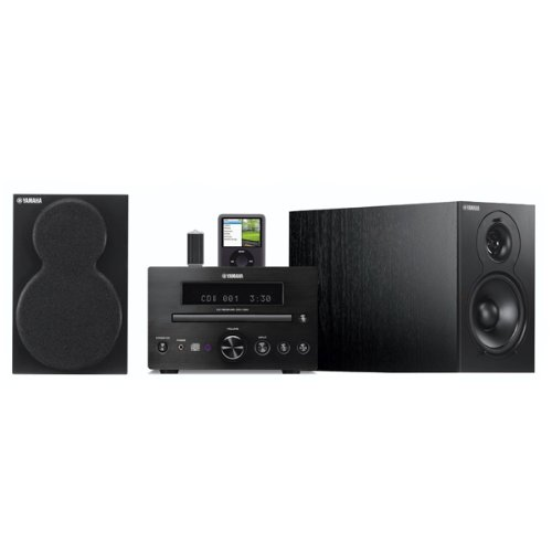 Yamaha M330 (black finish) CD and DAB Receiver with integral iPod dock. Includes Speakers.