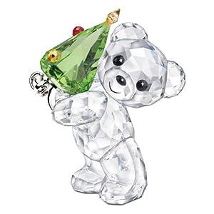 スワロフスキー SWAROVSKI クリスタル フィギュア クリスベア 2011年限定商品 クリスマスクリスベア 1091815 「並行輸入品」