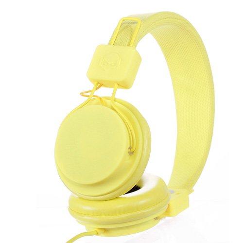Subjekt Tnt-Qm1255 Tnt Headphones With Microphone - Retail Packaging - Neon