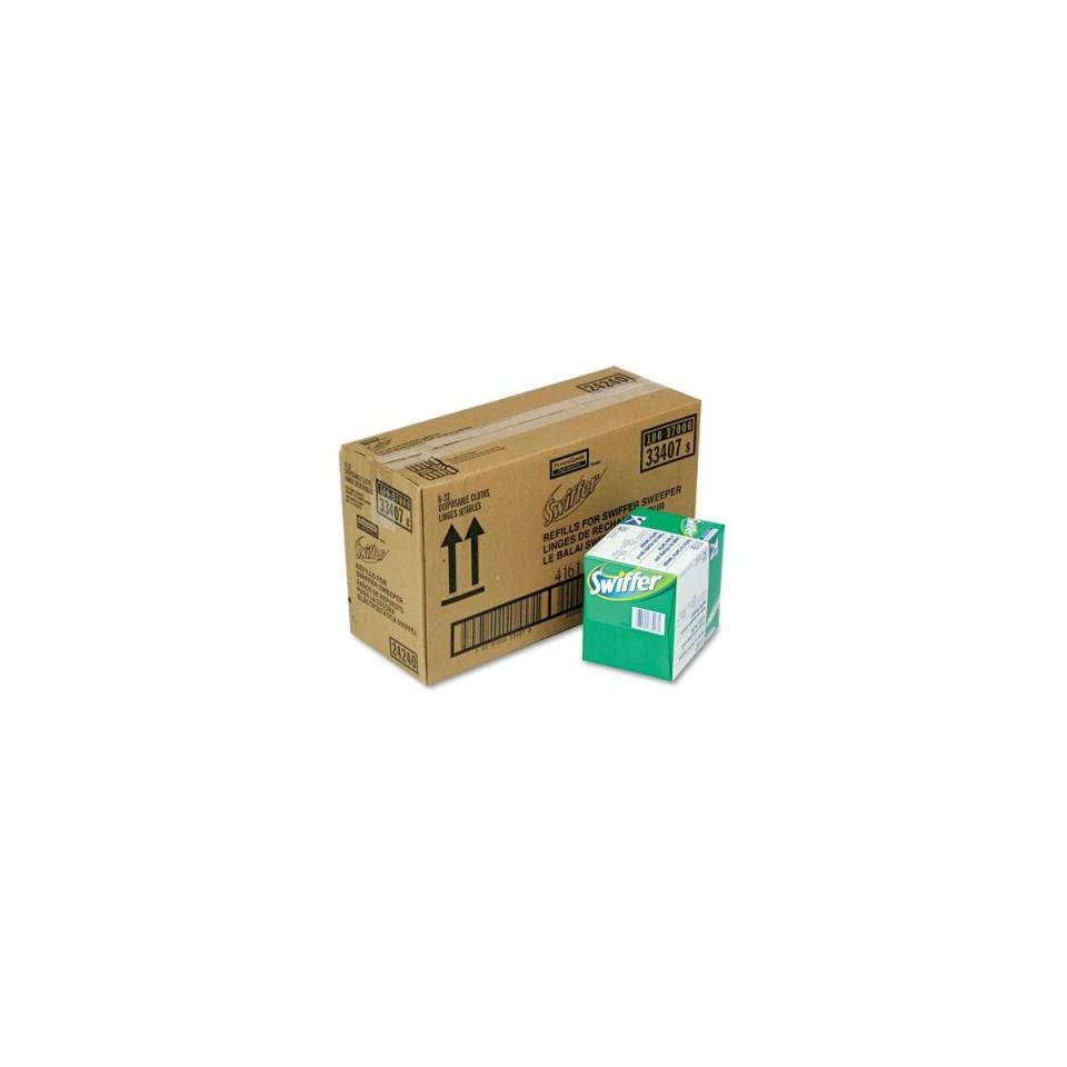 Swiffer Sweeper Dry Refill System Cloth We 32box 6