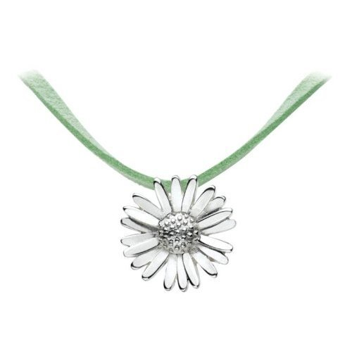 Necklace, Light Green Cord, 45cm Length, Model