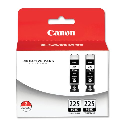 Canon Pgi-225 4530B007 Twin Pack Value Pack-Black front-595783