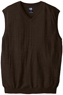 Cutter & Buck Men's Big-Tall Big and Tall Douglas V-Neck Sweater Vest