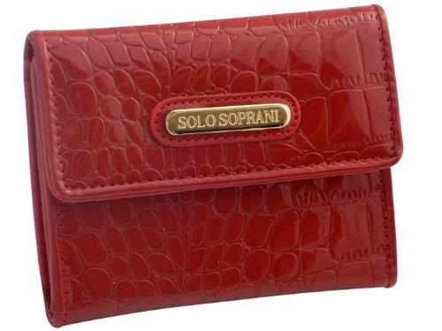 Portafoglio donna Solo Soprani 8595 859 Rosso