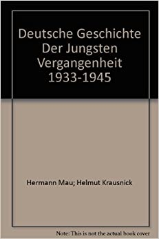 1933-1945: Hermann Mau; Helmut Krausnick: Amazon.com: Books