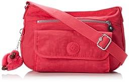 Kipling Syro Crossbody, Vibrant Pink, One Size