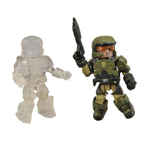 Picture of Diamond Select Halo Minimates Series 1 Exclusive Mini Figure 2Pack USNC Marine Active Camo ODST (B004GMMDI0) (Halo Action Figures)