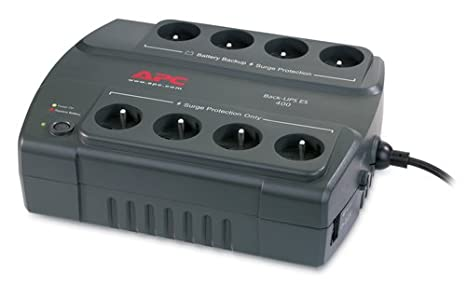 Ondulateur Back-UPS APC BACK UPS BE400FR NOIR 400VA