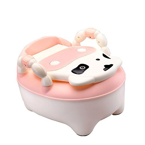 2016 child toilet baby baby cows drawer potty toilet toilet small infants and young children (Pink) (Paw Patrol Potty Chart compare prices)