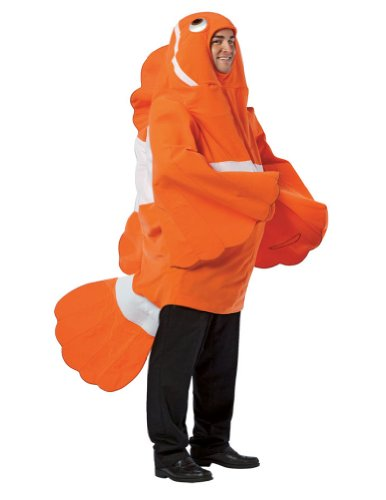 Halloween Costumes Item - Clownfish Adult Costume
