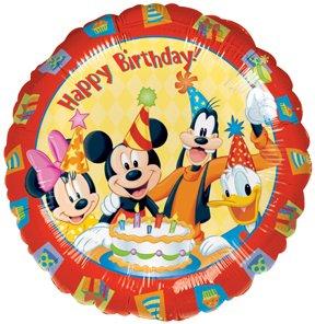 "+ Donald Duck 18"" Happy Birthday Party Mylar Balloon: Toys & Games"